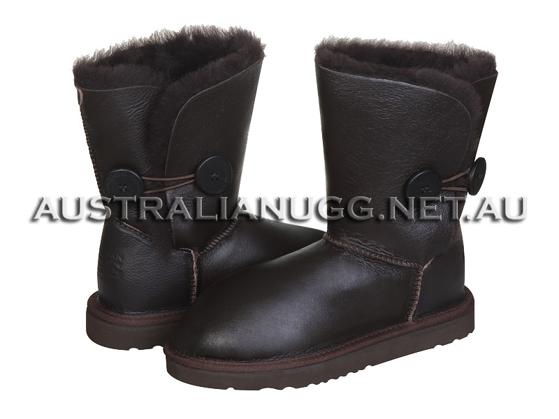 AUSTRALIAN UGG ORIGINAL Nappa Twin Button Short ugg boots