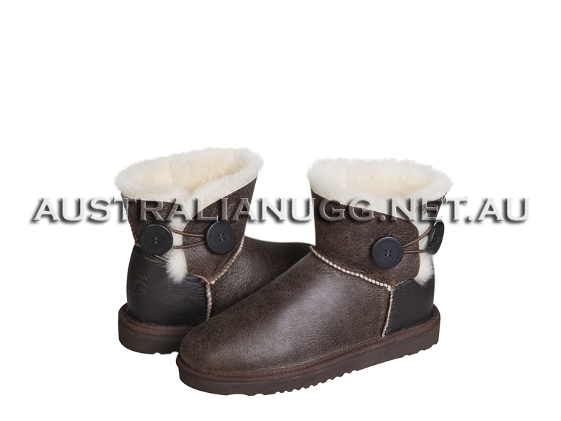 AUSTRALIAN UGG ORIGINAL Nappa Twin Button Mini ugg boots
