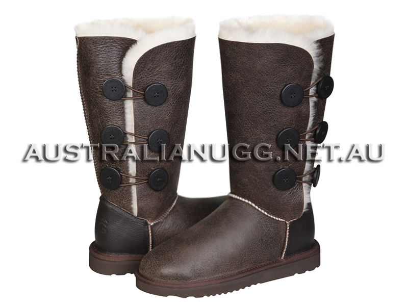 AUSTRALIAN UGG ORIGINAL Nappa Twin Button Tall ugg boots