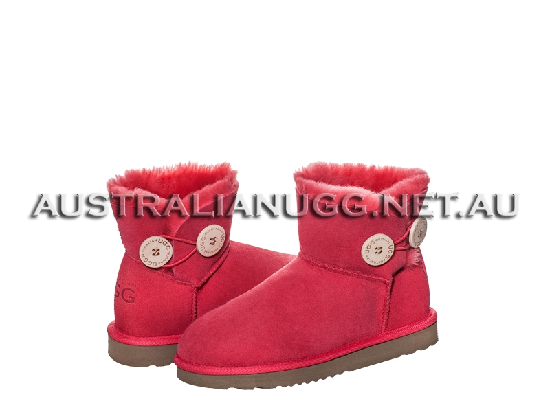 AUSTRALIAN UGG ORIGINAL Classic Twin Button Mini ugg boots